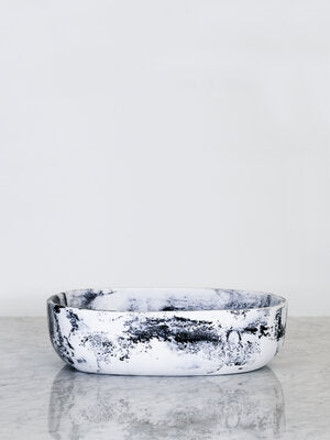 Tierra Resin Salad Bowl - Luna