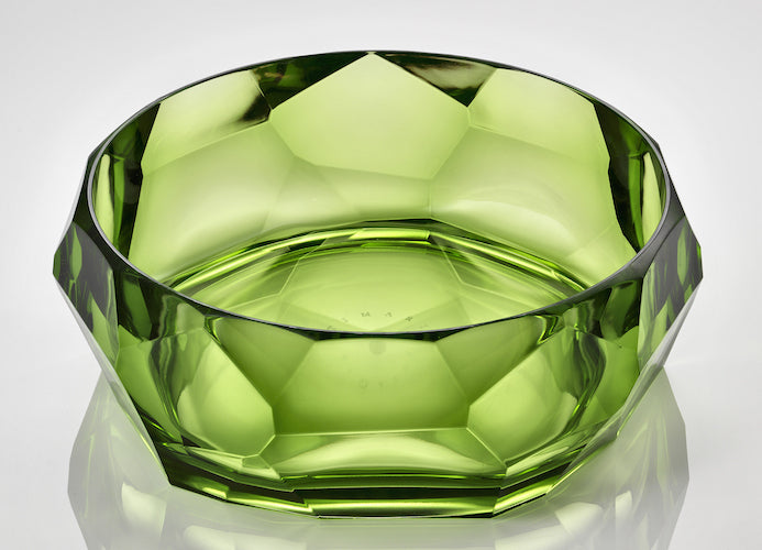 Mario Luca Giusti Green Supernova Bowl