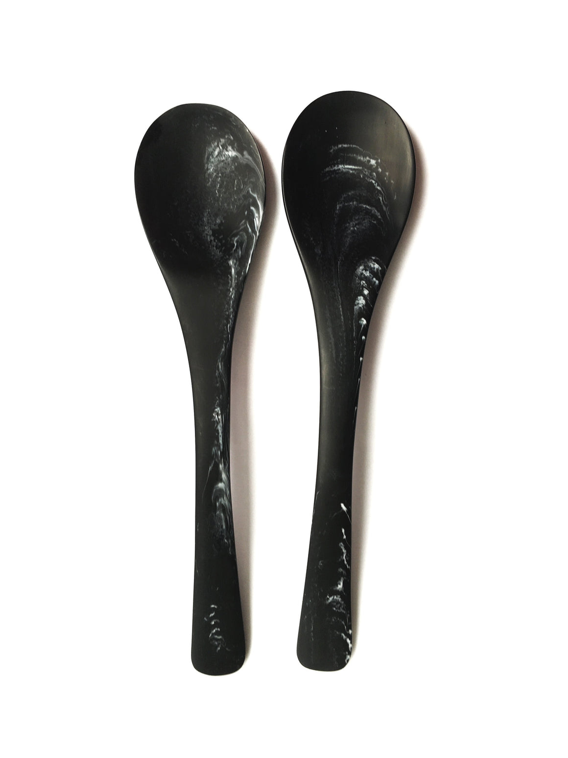 Set of Storm Resin Serving Spoons