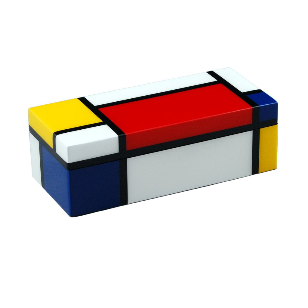 Mondrian Inspired Lacquer Box