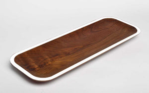 Long Walnut Tray