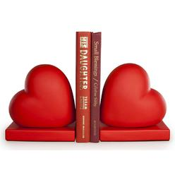Heart Bookends, set of 2