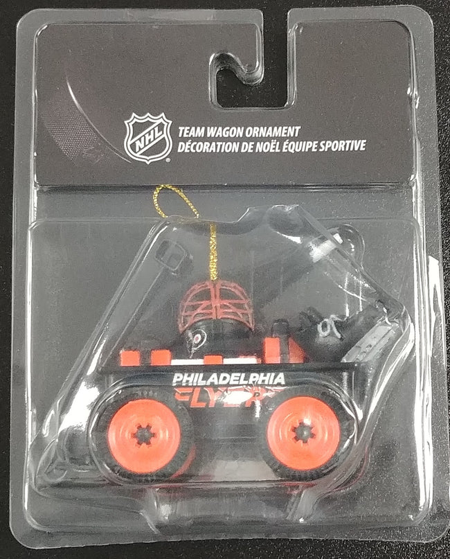 Philadelphia Flyers Wagon Ornament