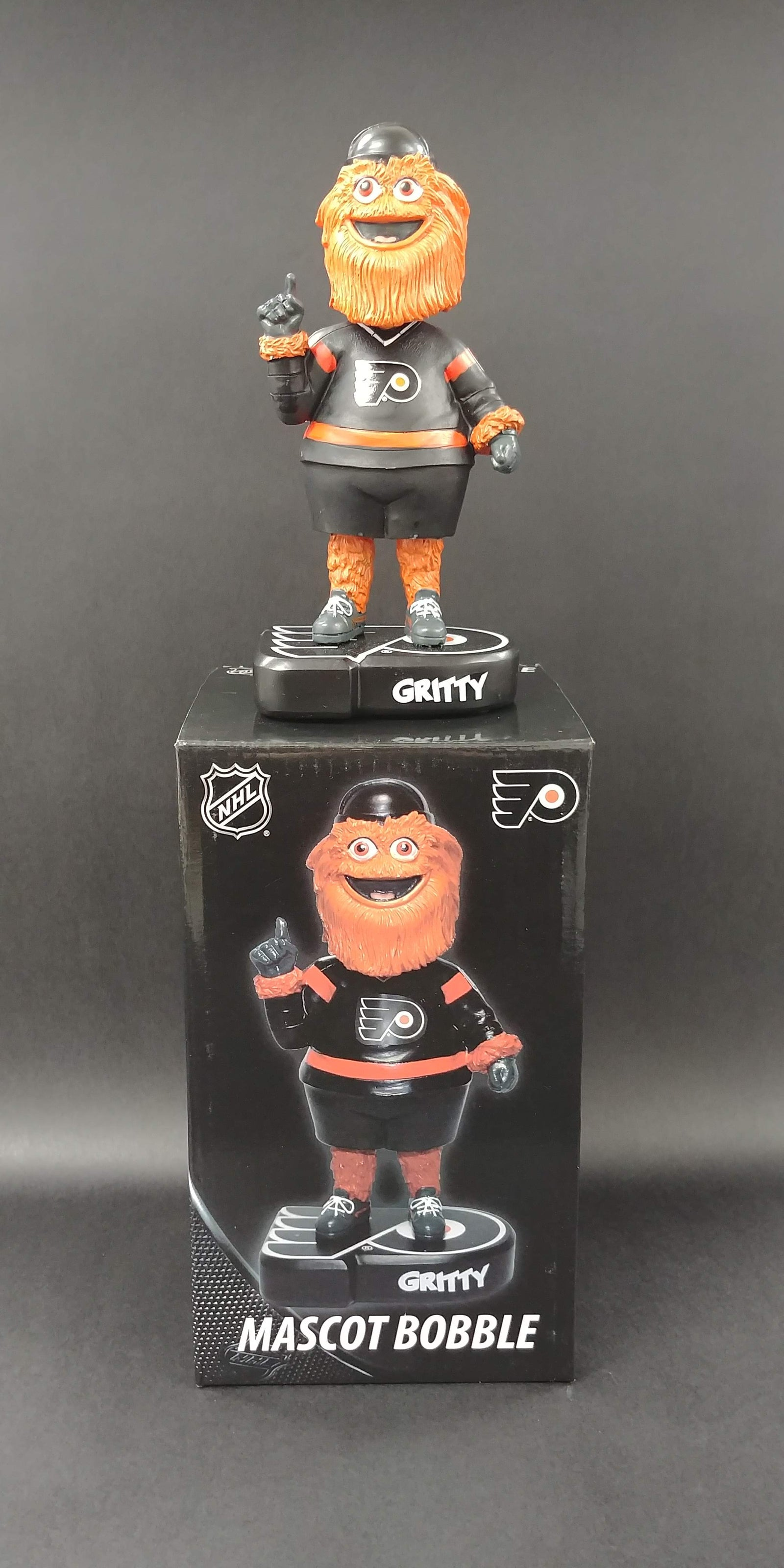 Gritty Philadelphia Flyers Alternate Jersey Bobble Head