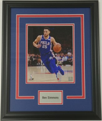Ben Simmons Framed 8x10 Photo Display