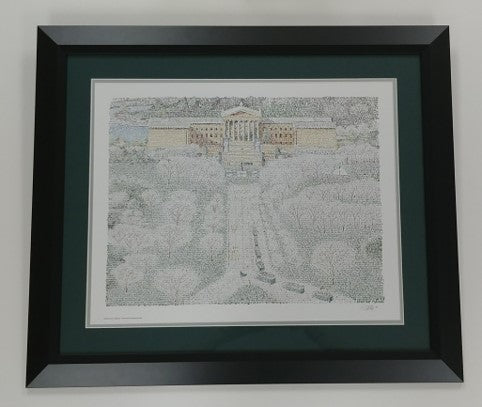 "Philadelphia Eagles Framed ""Super Bowl Parade"" 16x20 WordArt Print"