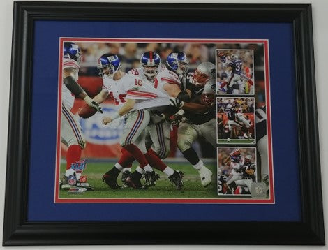 "Eli Manning/David Tyree ""The Catch"" Framed 11x14 Photo Display"