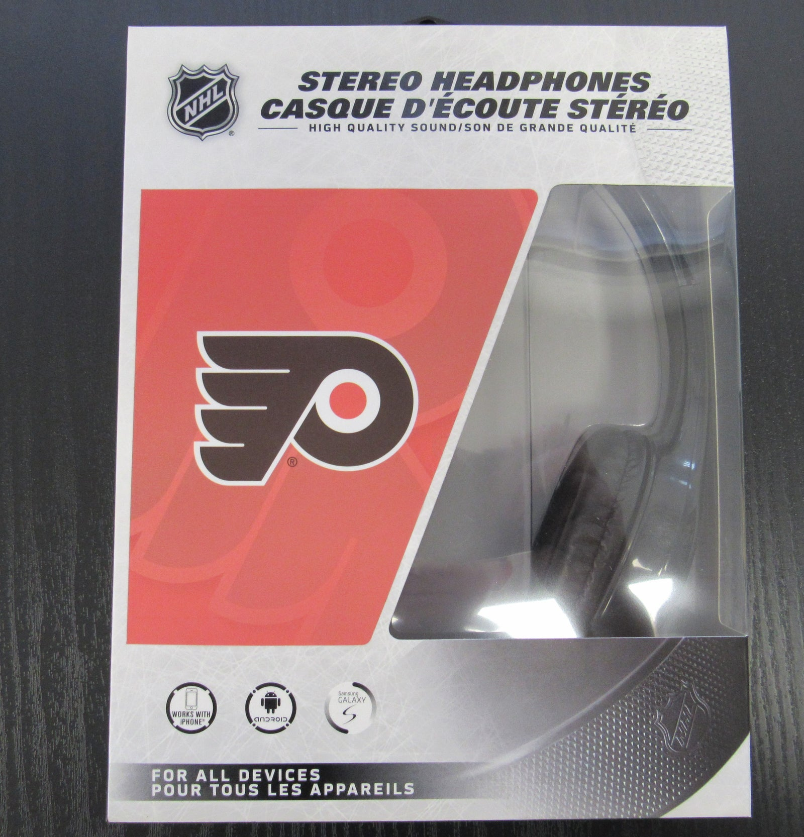 Philadelphia Flyers Stereo Headphones