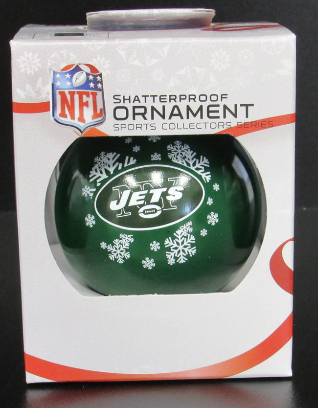 New York Jets Shatterproof Ornament
