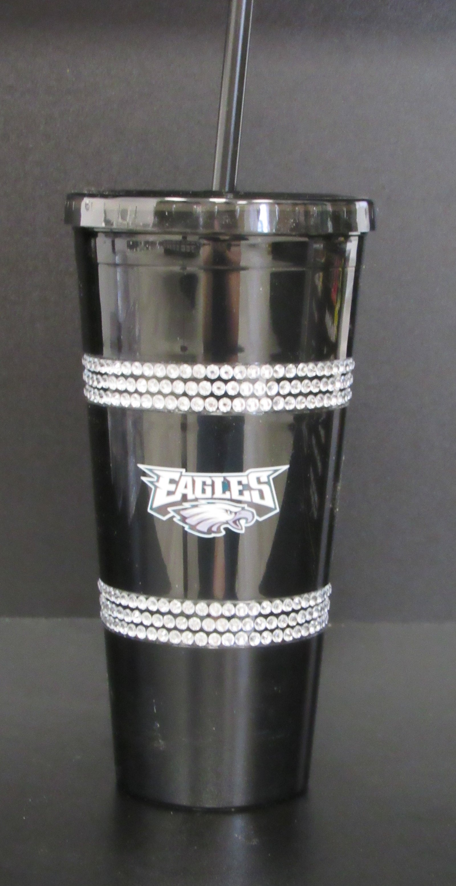Philadelphia Eagles 22oz Bling Tumbler