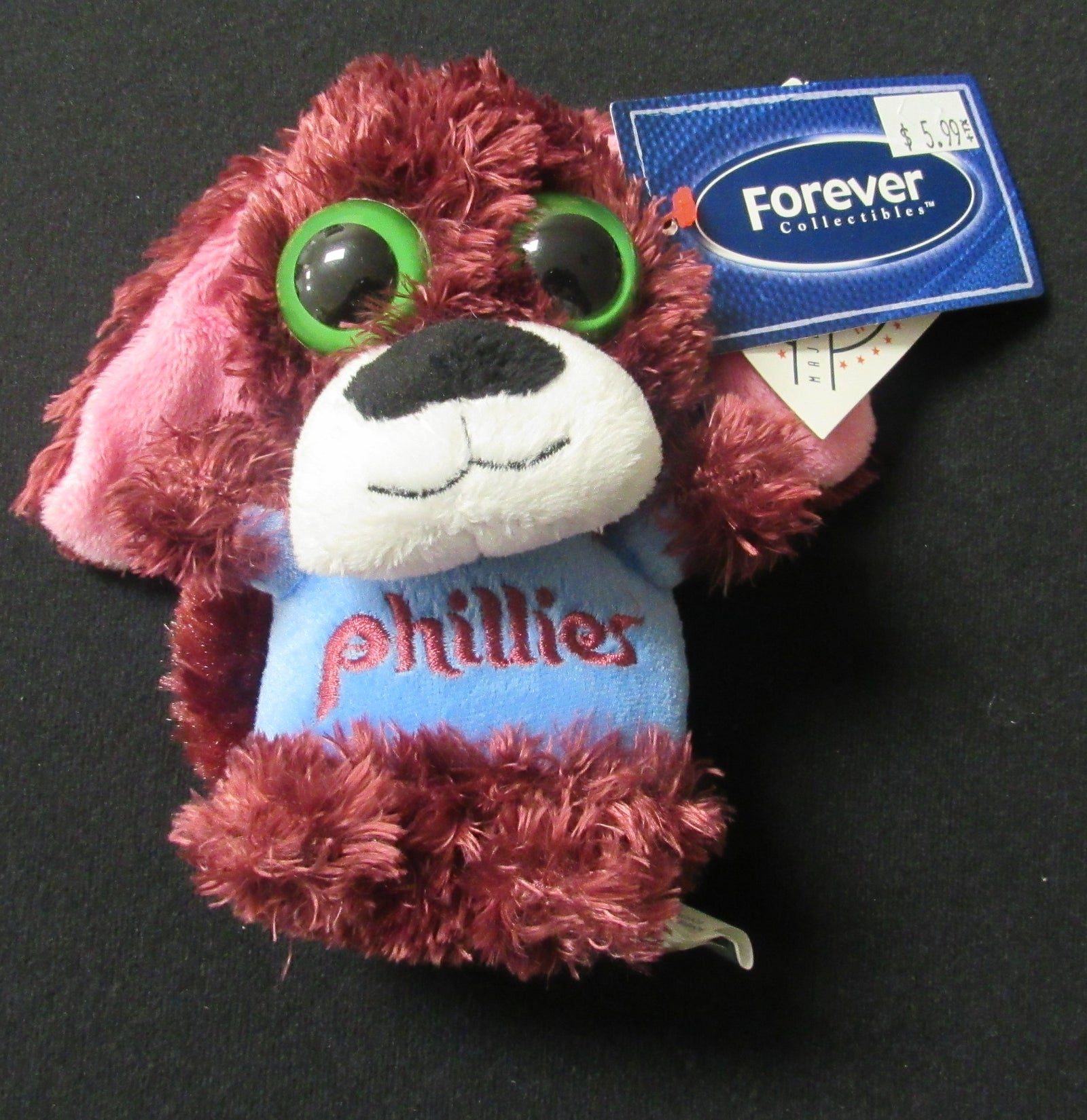 "Philadelphia Phillies 5"" Retro Big Eye Dog"