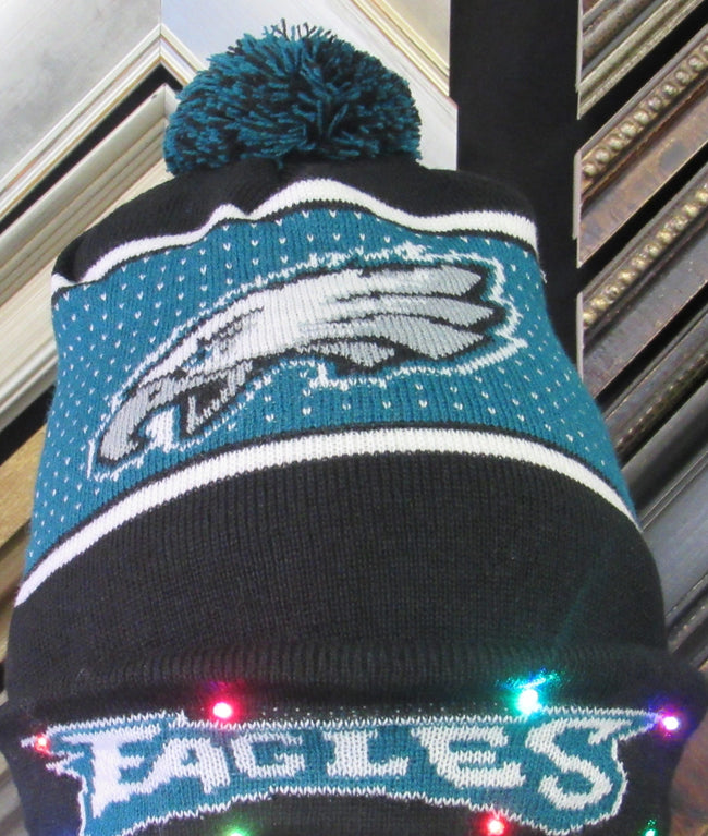 Philadelphia Eagles Light Up Knit Hat