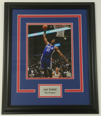 Joel Embiid Framed 8x10 Photo Display
