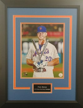 Pete Alonso Framed 2019 Home Run Derby 11x14 Photo Display
