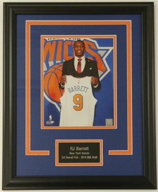 "RJ Barrett ""Draft Day"" 8x10 Framed Photo Display"