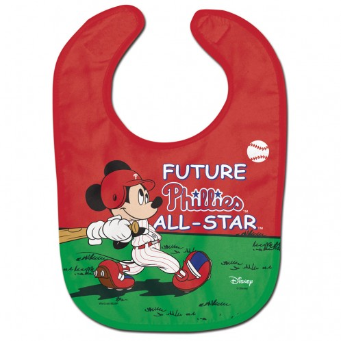 Philadelphia Phillies / Disney Mickey Mouse All Pro Baby Bib