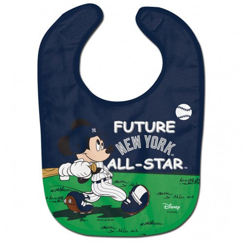 New York Yankees / Disney Mickey Mouse All Pro Baby Bib