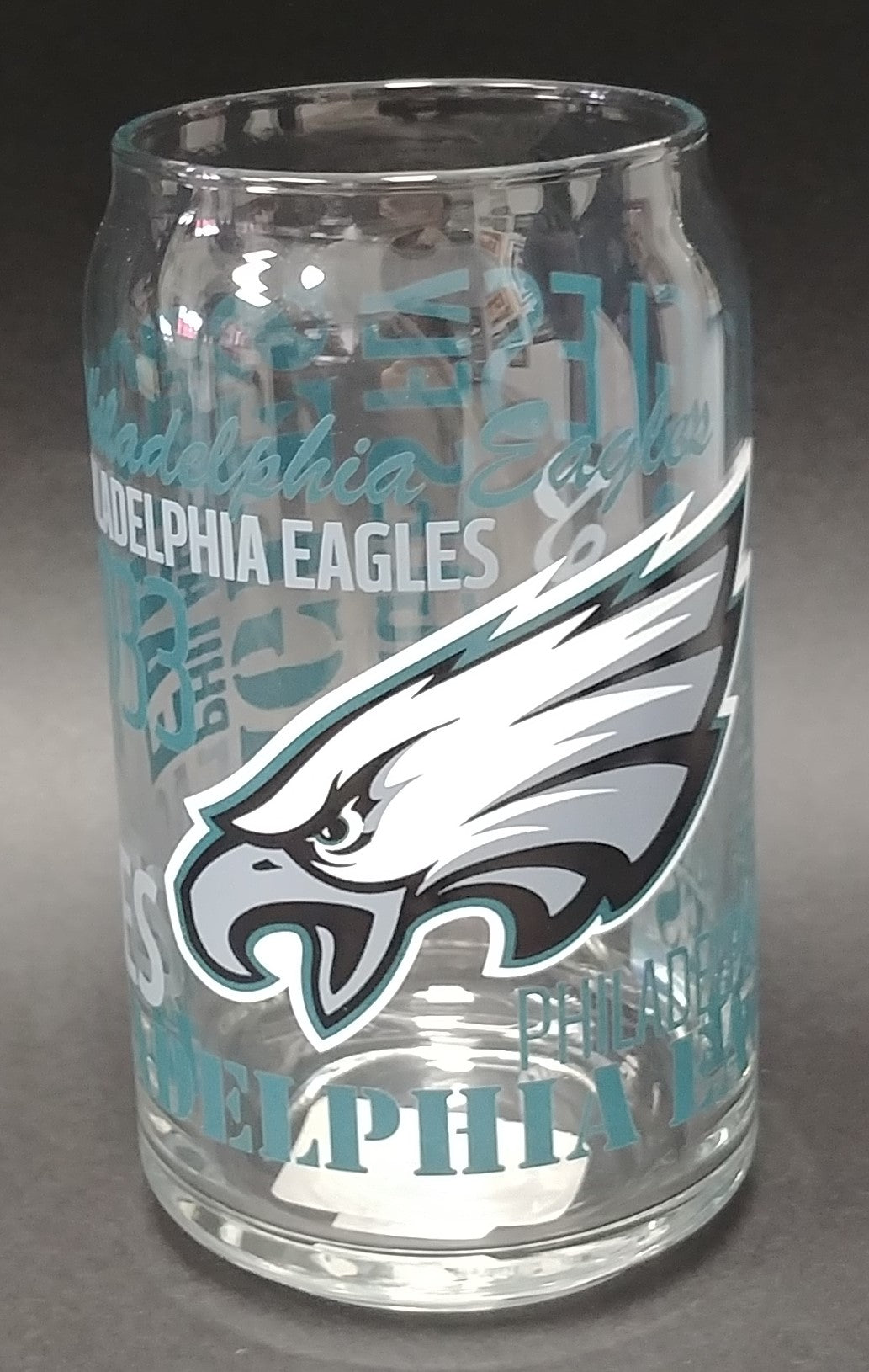 Philadelphia Eagles 16oz Spirit Glass Can