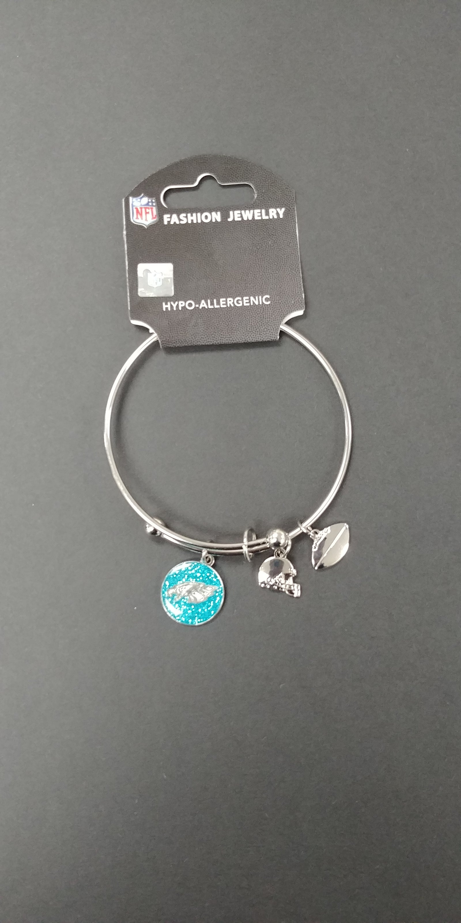 Philadelphia Eagles Mystique Adjustable Bangle Bracelet