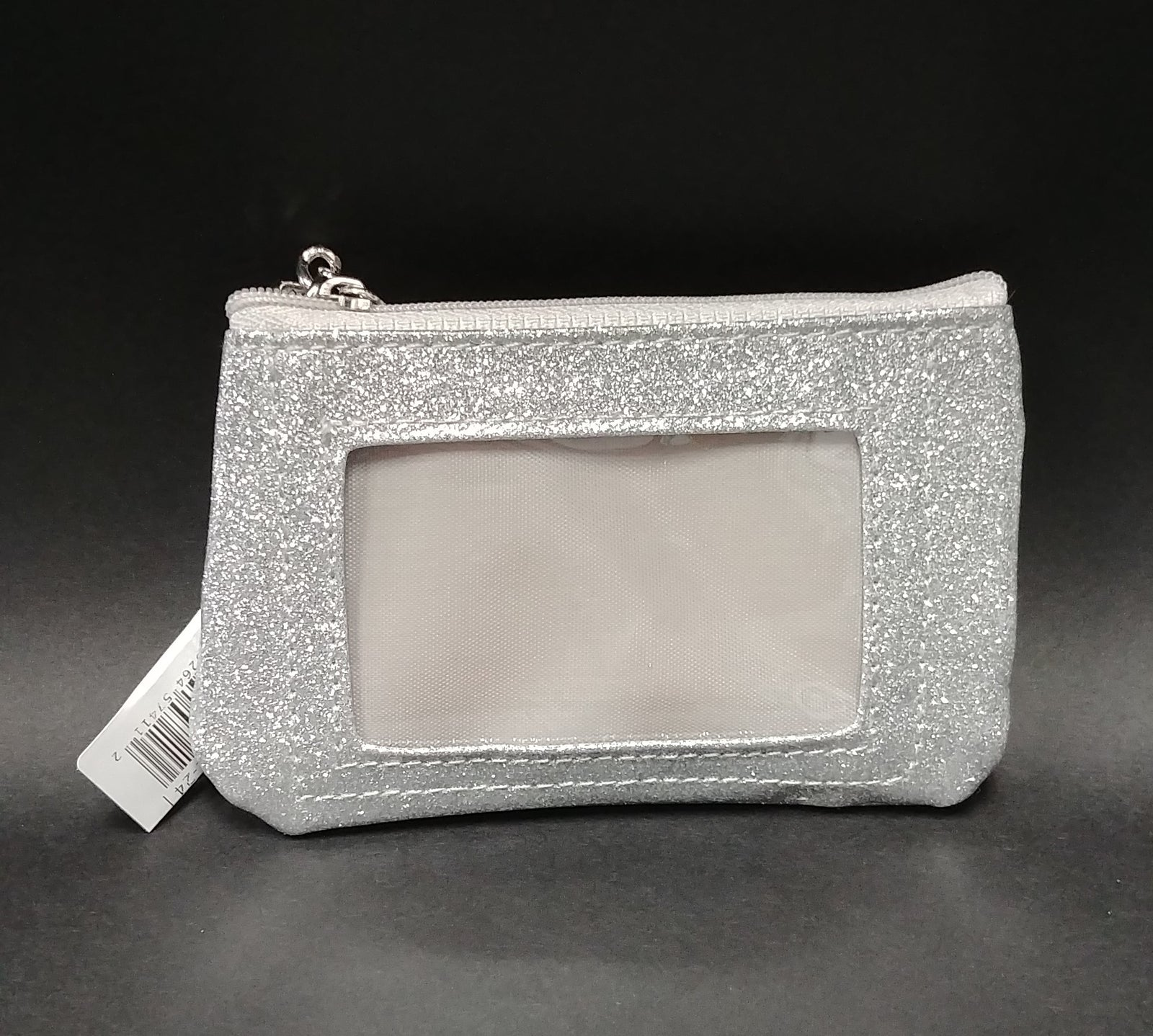 Philadelphia Eagles Silver Sparkle Coin Purse