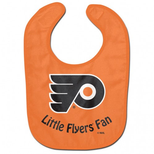 "Philadelphia Flyers ""Little Flyers Fan"" Baby Bib"