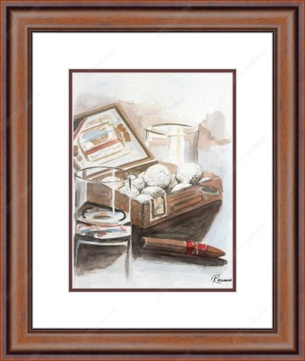Box of Golf Balls Framed Print