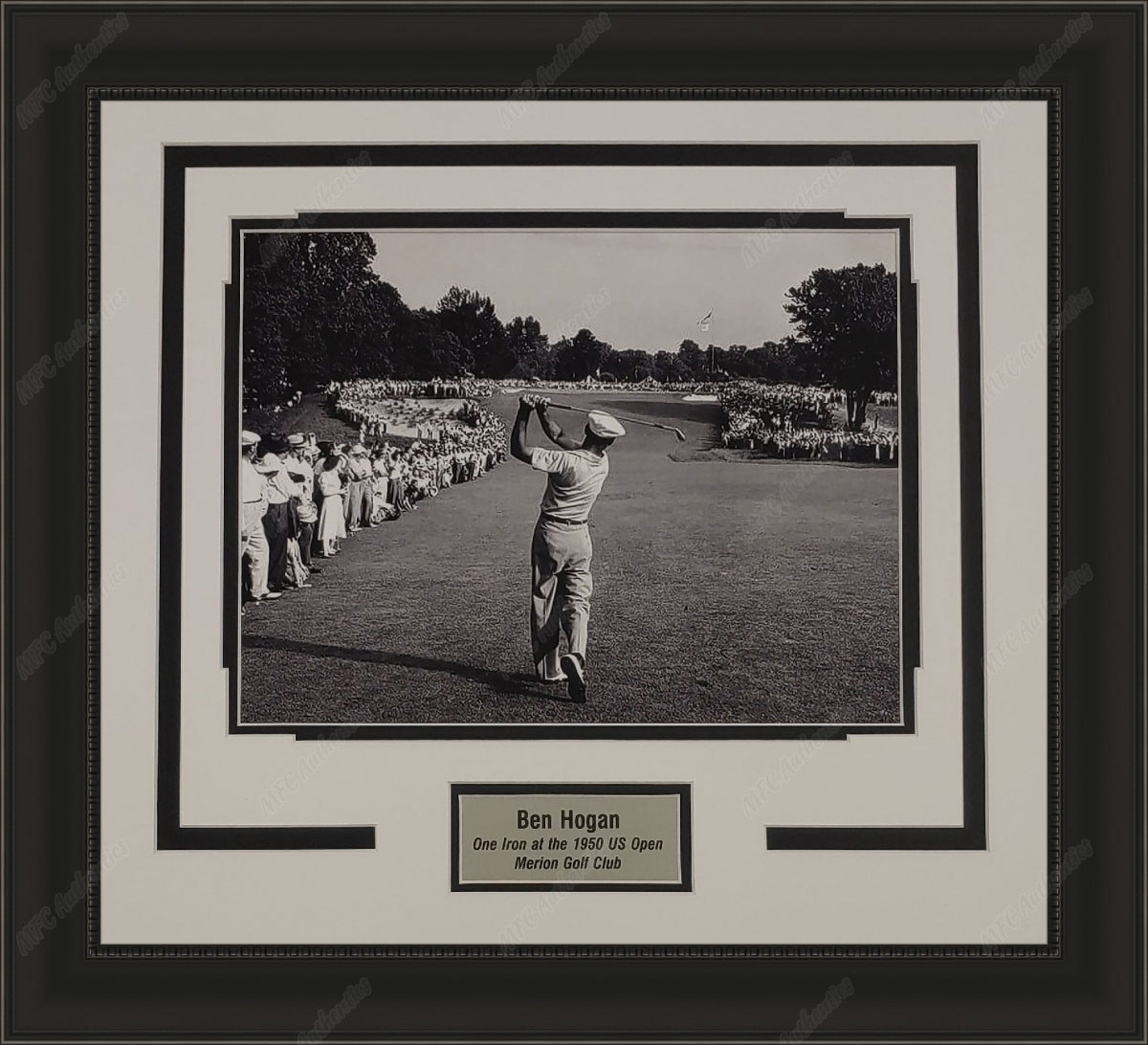 "Ben Hogan ""One Iron at the 1950 US Open"" 11x14 Framed Photo Display"