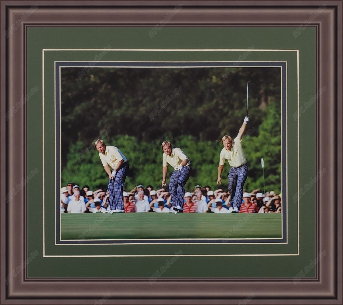 "Jack Nicklaus ""Putt Sequence"" 11x14 Framed Photo"