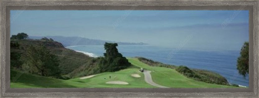 Torrey Pines Golf Course Framed Photo