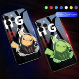 Pikachu luminous phone case for iPhone 11 / 12pro max / Samsung