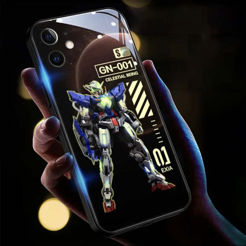 Gundam luminous phone case for iPhone 11 / 12pro max / Samsung
