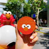 Sesame Street Manhole Cover Shaped Airpods Case