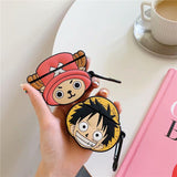 One Piece Chopper & Luffy Airpods Case