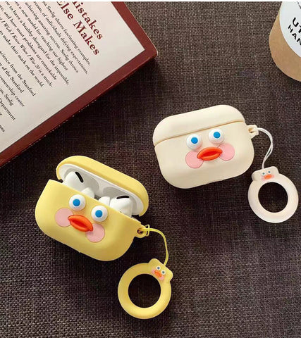 Cartoon Cuty Duck Airpods Pro Case