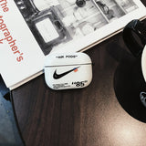 Nike Black/White Airpods Pro Case