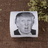 Novelty Donald Trump Open Mouth Printed Toilet Paper Roll Prank Joke Gift