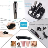 Kemei 600 Trimmer Hair Clipper Multifunctional Beard Nose Hair Trimmer Cutting Machine Electric Shaver Razor Kemei 11 in 1