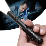 Portable Water-proof Led Pen Flashlight