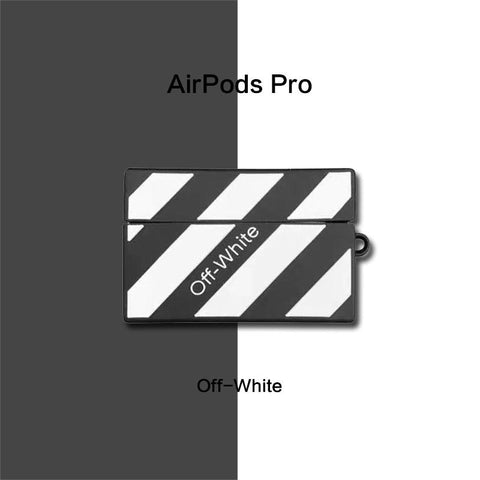 OFF White Airpods Pro Case -  - TomorrowSummer
