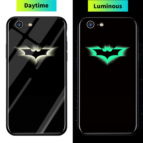 Luminous Super Hero iPhone Case
