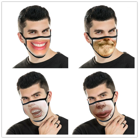 Spoof facemask