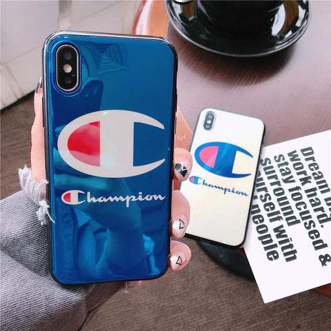 Champion Glossy iPhone Case