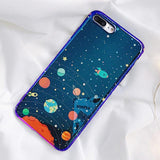 Glossy Universe iPhone Case