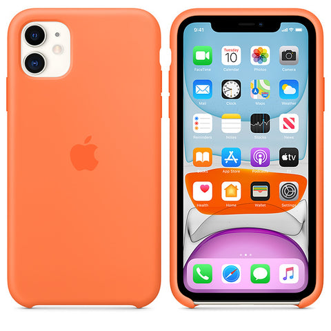 Solid Color Style Silicone iPhone Case