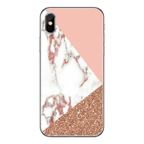 Montage Marble Parttern iPhone Protect Case