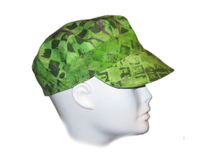 """Green Checkered"" Hat"