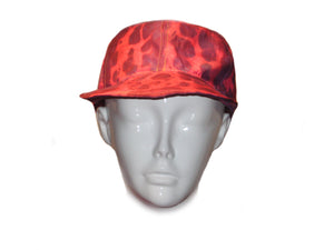 """Red Leopard"" Baseball Hat"