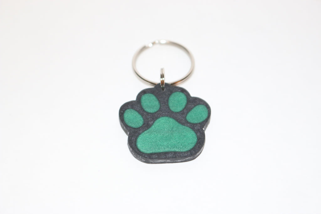 Dog Print Name Tag