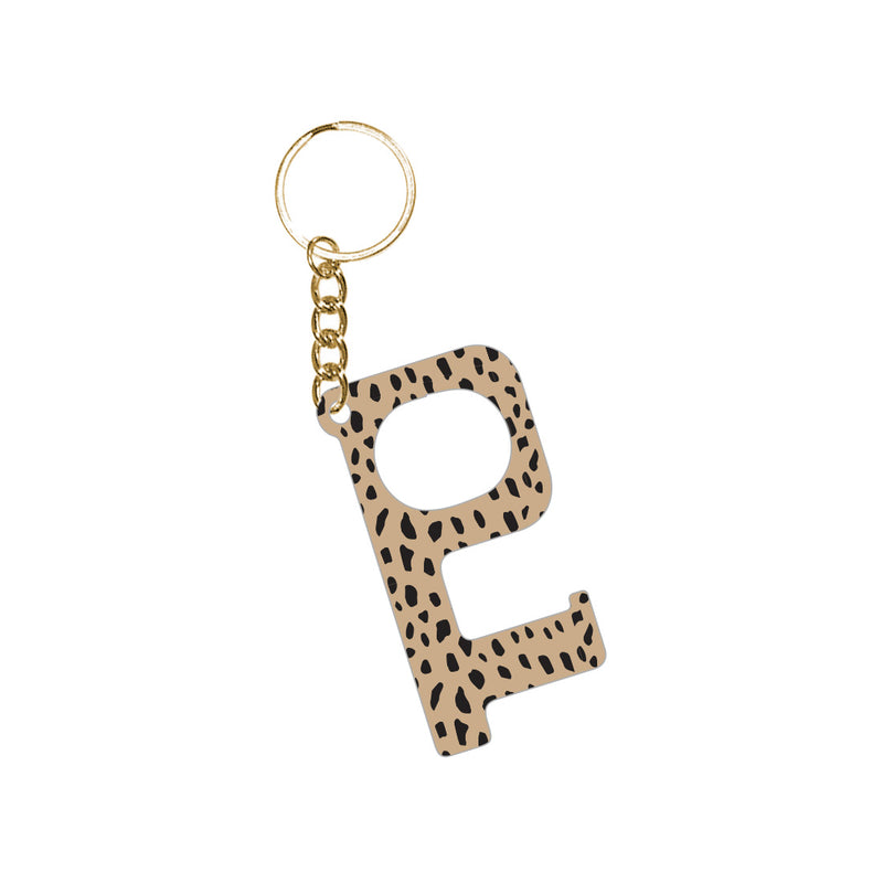 Cheetah Hands-Free Keychain