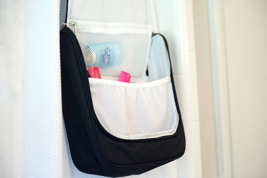Black Hanging Cosmetic Bag
